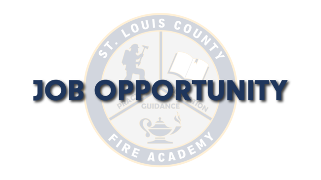 Job Opportunities – St. Louis County Fire Academy